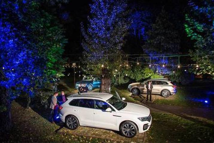 VW Touareg event Zagreb